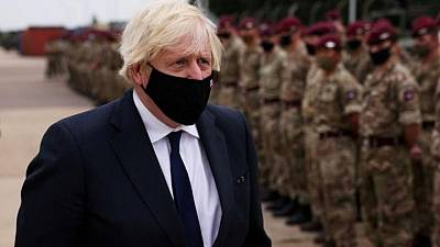 UK PM Johnson to address lawmakers about Afghanistan on Monday