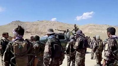 Taliban say they have entered capital of holdout Afghan region