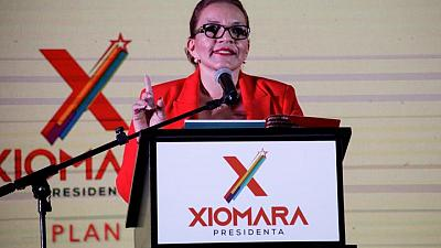 Honduran left-wing opposition plans China ties, debt 'readjustment'