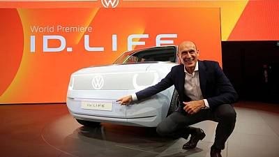 Volkswagen unveils ID LIFE small e-car at 20,000 euros