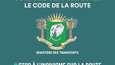Pour contraindre les mauvais conducteurs à respecter le code de la route et réduire les accidents sur les voies ouvertes à la circulation, le Gouvernement de Côte d'Ivoire annonce le déploiement officiel de la vidéo-verbalisation