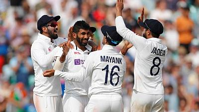 Cricket-England 131-2 chasing 368 for victory against India