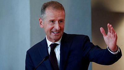 Volkswagen open to software partnerships, CEO tells Der Spiegel