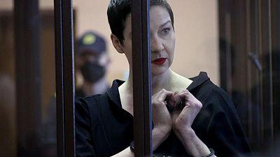 EU calls for immediate release of Belarus protest leader Kolesnikova