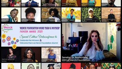 Merck Foundation CEO défend la communauté « Mode avec But » qui sont leurs gagnants de prix de la mode pour briser la stigmatisation de l'infertilité