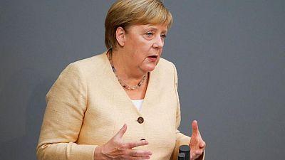 Merkel's conservatives slump to record low before German vote