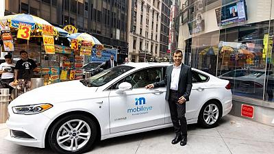 Mobileye to launch robotaxis in Germany next year - CEO
