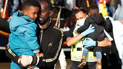 Young children among migrants rescued from English Channel