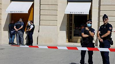 Armed robbers hit luxury jewellery boutique on Place Vendome in Paris