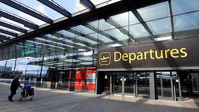 Ryanair says British airports to struggle this Christmas