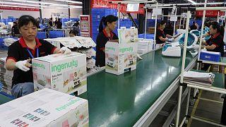 La inflación en las fábricas chinas alcanza su nivel más alto en 13 años