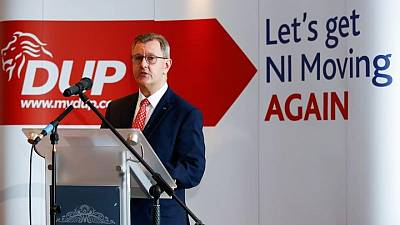 DUP threatens to quit N.Ireland government over Brexit protocol