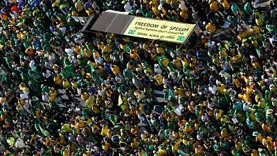 Analysis-Bolsonaro rallies base but turns off allies and markets