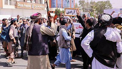 Taliban response to Afghan protests increasingly violent, U.N. says