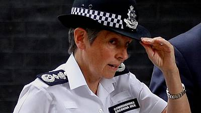 UK extends Cressida Dick's contract as London police chief