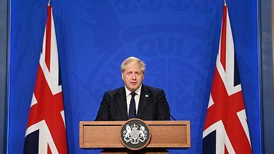 UK PM Johnson to address parliament on COVID-19, BBC reporter says