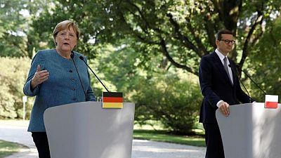 Germany's Merkel seeks to calm Poland's Nord Stream 2 fears