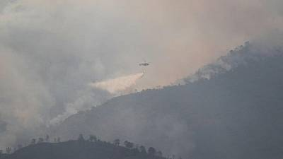 Anger as Spanish wildfire blazes for fourth day
