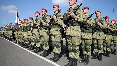 Russia uses new hardware at big military drills
