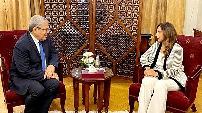 Le Ministre des Affaires Étrangères, de la Migration et des Tunisiens à L'étranger S'entretient au Caire avec Son Homologue Libanaise