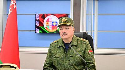 Belarus leader reviews joint Russian military drills, touts $1 billion arms deals