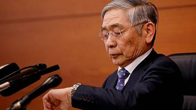 After the 'bazooka', Bank of Japan dismantles the work of its radical chief