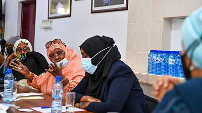 In Somalia, Deputy UN chief encourages progress on women's political participation, and peaceful elections