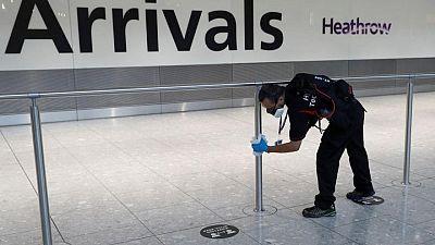Heathrow tells UK to change travel rules as passenger slump continues