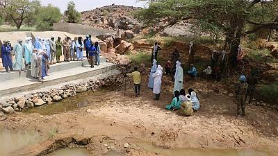 Accès à l'eau : Plus de 2500 ménages bénéficient d'un barrage dans la région de Kidal avec l'appui de la MINUSMA