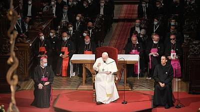 Pope laments Europe's fractures between individual rights and common good