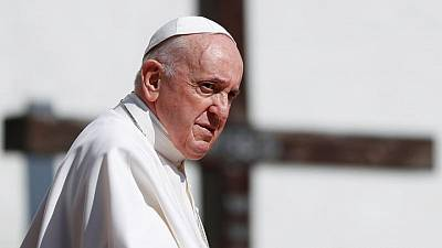 Pope, in Slovakia, warns European countries against being self-centred