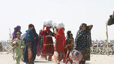 Afghans still fleeing rural homes despite fall in violence - UN migration agency