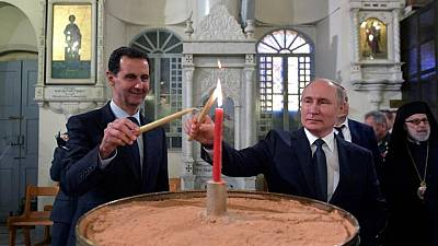 Russia's Putin meets Syria's Assad in Moscow