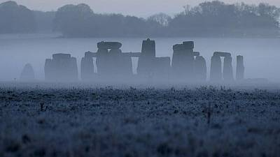 Major repair work starts at Stonehenge's stone circle