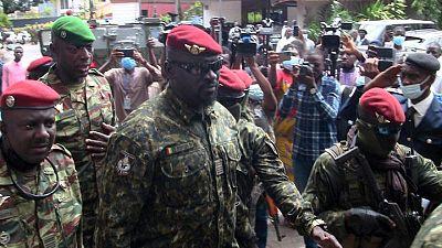 La junta golpista de Guinea inicia la negociación de un Gobierno de transición
