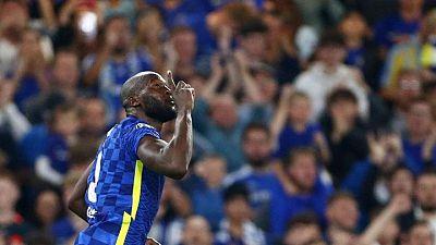 Soccer-Lukaku earns Chelsea narrow win over Zenit