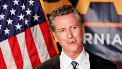 El gobernador Newsom arrasa en las elecciones de California