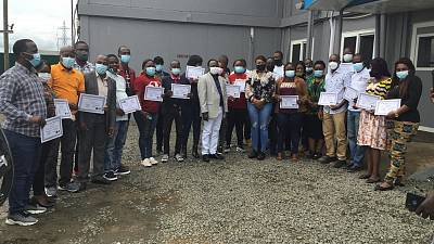 Liberia Concludes Three-Day Training to Strengthen Event Based Surveillance through Epidemic Intelligence from Open Sources (EIOS)