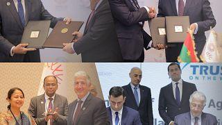 L'itfc signe dix Accords Commerciaux De Haut niveau représentant plus de 1,2 milliards de dollars