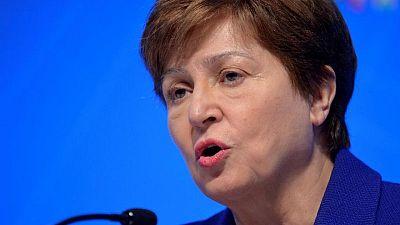 IMF's Georgieva accuses former World Bank President Kim's office of manipulation