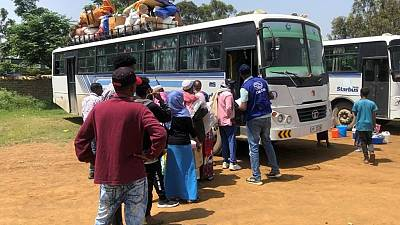 IOM Relocates Over 17,000 People Uprooted by Conflict in Northern Ethiopia to New Shelter