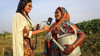 Les petits producteurs africains à la radio envoient un message d'optimisme et de prudence aux dirigeants mondiaux participant au Sommet sur les systèmes alimentaires