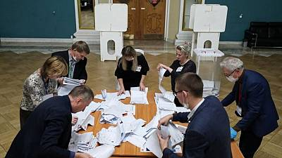 U.S. does not recognize Russian Duma elections on Ukraine territory -State Dept