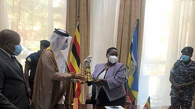 Prime Minister of Uganda Meets Ambassador of Qatar