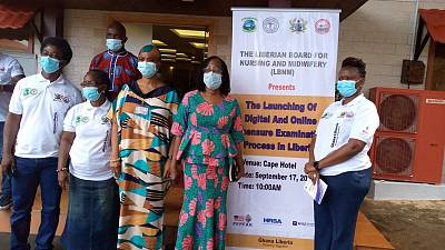 Liberia: Ministry of Health, Liberia Board for Nursing and Midwifery (LBNM) Launch Digital Online Licensing Examinations System
