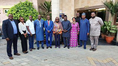 Session de travail du Comité technique de sélection des bénéficiaires du Programme d'immersion des jeunes diplômés dans les institutions de la CEDEAO, édition 2021