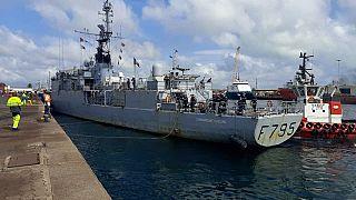Coopération maritime France-Gabon : escale du patrouilleur de haute mer CDT Ducuing à Port-Gentil