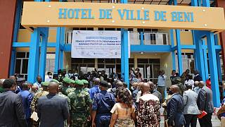 Beni : La MONUSCO Remet Le Nouveau Bâtiment de La Mairie aux Autorités Congolaises