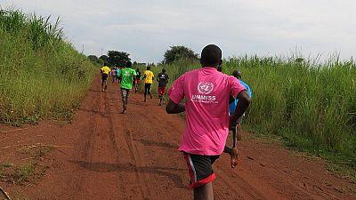 Running for harmony: Residents of Morobo celebrate International Day of Peace