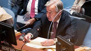 الأمين العام للأمم المتحدة: يجب ضخ سيولة مالية لتفادي أزمتين اقتصادية وإنسانية في أفغانستان